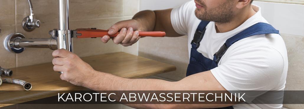 Rohrreinigung in Haiterbach - Karotec-Abwassertechnik: Kanalsanierung, Toilette verstopft