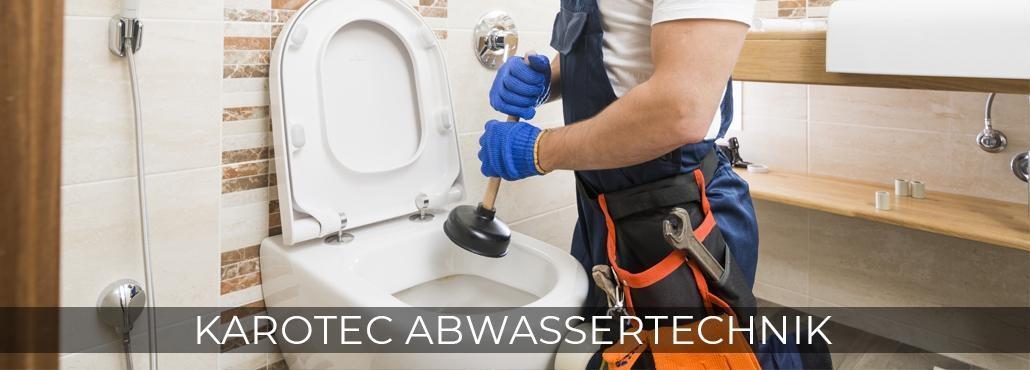 Rohrreinigung für Wildberg - Karotec-Abwassertechnik: Kanalsanierung, Toilette verstopft