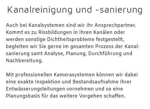 Kanalreinigung in  Ammerbuch