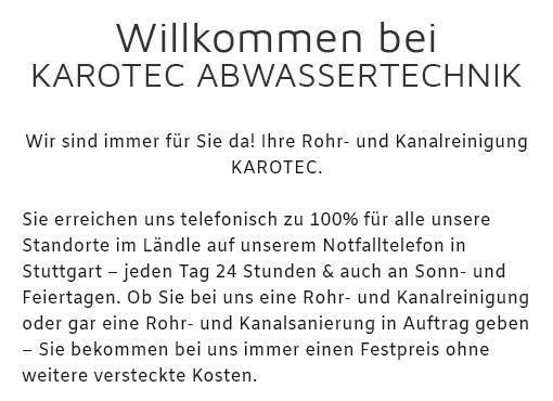 Rohrreinigung in  Herrenberg, Deckenpfronn, Wildberg, Jettingen, Hildrizhausen, Ammerbuch, Bondorf oder Nufringen, Gärtringen, Gäufelden